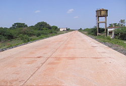 Steel Fibre Reinforced Roads